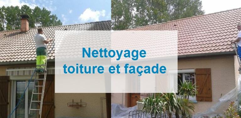 nettoyage toiture et facade