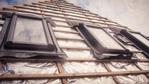 Pose fenêtres de toit Linars