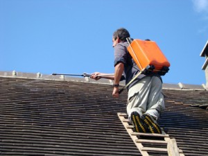Traitement hydrofuge de toiture Rivieres